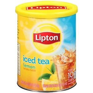 Lipton Lemon Iced Tea Mix Granules (23.6oz) 670g