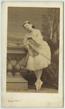 CDV 1860-70 Disdéri à Paris. La danseuse Thérèse Malo (épouse Legrand). Danse.