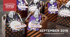 Bone Appetit September 2019 Paper Pumpkin - See Description