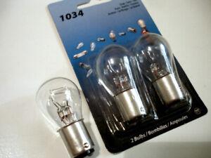 Set of 3 Eiko Stop Turn Tail Bulbs Item 1034
