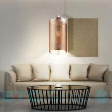 Lampe suspendue Salon Luminaire de plafond Grille CHAMPAGNE OR