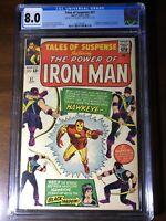 Tales of Suspense #57 (1964) -1st Hawkeye!! Iron Man!! - CGC 8.0!!! - Key!!!
