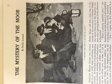 a1p ephemera 1929 short story the mystery of the moor bertha leonard
