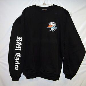 R&R Cycles Inc. Crew Neck Sweat-Shirt