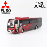 1/43 MITSUBISHI FUSO TRUCK & BUS CORPORATION AERO ACE BUS ANZEIGE MODELL