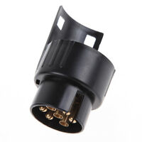 13 To 7 Pin Electric Towing Socket Converter Trailer Caravan Plug Adapter Towbar