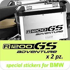 2 Adesivi Stickers BMW R 1200 gs valigie adventure R GS