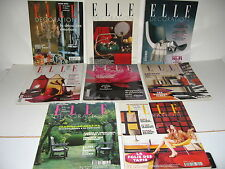 8 REVUES ELLE DECORATION STARCK BACCARAT VISCONTI ALCAZAR NORMANDIE (41)