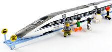 Children toy alloy train high-speed rail model 2 piece set (L)