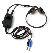 Kehlkopfmikrofon / Kehlkopf-Mikrofon für Funkgerät mit Schalter L38133, 2-polig