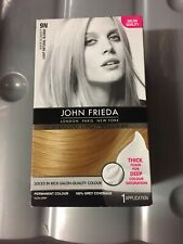 John Frieda Precision Foam Colour Hair Dye, Number 9N, Light Natural Blonde New