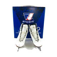 Used Riedell model 30 Ice Figure Skate Size 2 Md Wide John Wilson Jubilee Blade