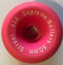 Original 1990's Supreme Rollers - Street 83A 60mm Quad Roller Skate Wheel