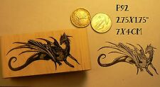 P92 Dragon rubber stamp NEW