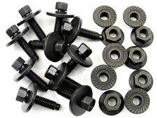 Honda Body Bolts & Flange Nuts- M6-1.0mm x 22mm Long- 8mm Hex- Qty.10 ea.- #395