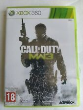 Jeu Microsoft Xbox 360 MW3 Call Of Duty Cod activision complet
