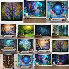 Landscape Fantasy Tapestry Bedspread Throw Blanket Home Wall Hanging Mats Decor