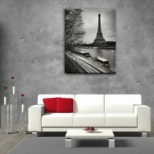 Wall Art Glass Print Picture Unique Eiffel Tower Paris Decor (cm) 60x80 SALE