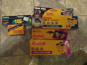 12 Kodak & Konica  Expired 35mm Film