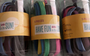 Have Fun In The Sun Headband 3 Pack 15 Total Pc Multi Color