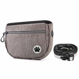 Dog Treat Obedience Training Pouch Food Snack Bag Adjustable Strap Pet Supplies