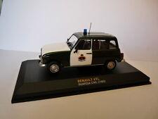 POLICE 1/43 altaya IXO RENAULT 4 L TL guarde civile, guardia civil 1985