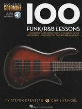 100 Funk/R&B Lessons for Bass Bass Guitar TAB Music Book/Audio Learn to Play