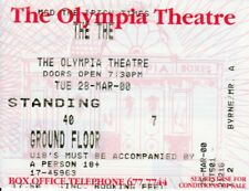 THE THE Original Concert Ticket - Olympia Theatre, Dublin, IRL - 28th March 2000