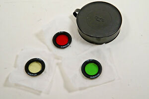 Brand New! Rear Filters Kit For Zenitar F2.8/16mm and Zenitar F3.5/8mm