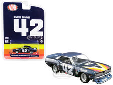 1970 PLYMOUTH BARRACUDA T/A #42 SWEDE SAVAGE 1/64 CAR GREENLIGHT FOR ACME 51264