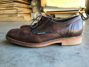 Mephisto Leather Oxford Dress Shoe sz 10.5 Brown
