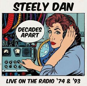 Steely Dan - Decades Apart: Live On The Radio '74 & '93 (2017)  5CD Box Set  NEW