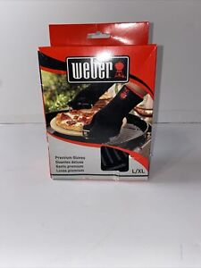 Weber Premium Barbeque Glove Set, L/LX W