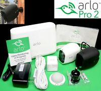 COMPLETE NEW ARLO PRO 2 Netgear 1080p HD Wireless Security Camera Kit & EXTRAS
