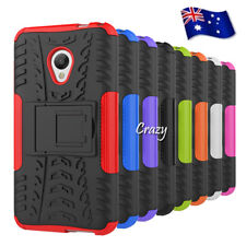Heavy Duty Tough Kickstand Strong Case Cover For Alcatel U5 | Optus X Spirit