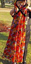 Beautiful Vintage Olga Wear Olgawear Mod Floral Dress 70S Floral Xs?