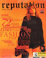 Taylor Swift Reputation Volume 1 / Album TS Swiftly magazine + CD            46A