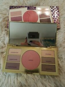 New In Box Tarte Miracles of the Amazon Eye & Cheek Palette Mirrored Compact