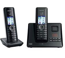 T-SINUS A502 Duo Schnurlos Telefon Anrufbeantworter und 2 Mobilteilen Handteilen