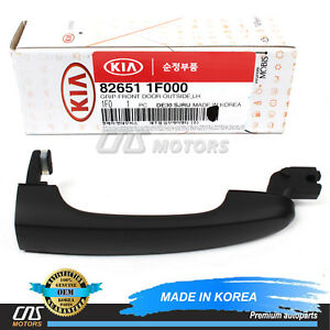 GENUINE Outside Door Handle FRONT DRIVER for 05-10 Kia Sportage 826511F000⭐⭐⭐⭐⭐