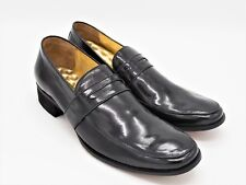 D448 New Men's Shane and Shawn Black Penny Dress Loafer 14 D