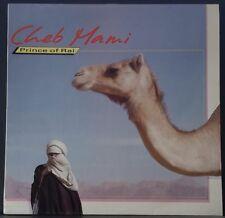 CHEB MAMI - PRINCE OF RAI 1988 TRIPLE EARTH REC. TERRA 105 ALGERIAN FOLK/MODERN