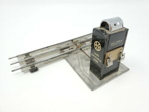 """Marx """"Cars Uncouple Here"""" 0 Gauge Track Lighted Switch/Uncoupler"""