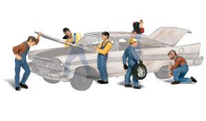 Woodland Scenics ~ HO Scale People ~ Auto Mechanics ~ A1914