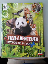 WWF und Rewe Sammelalbum voll Tier-Abenteuer Entdecke sie alle - neuwertig