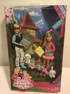 Barbie - RARE / HARD TO FIND - A Pony Tale - Twins Max & Marie - NEW IN BOX