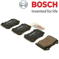For Cadillac Chevrolet Dodge Jeep Rear Brake Pad Set w/ Shims Bosch QuietCast