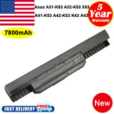 9cell battery A32-K53 for ASUS A53E A53S A43S A54C K53SV X53U X54H notebook fast