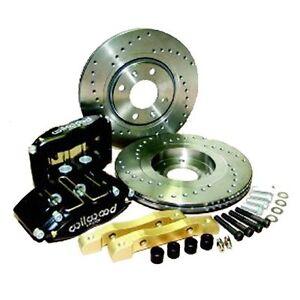 Wilwood Escort Mk2, Rs/Capri Brake Kit Midilite 4 Pot 247 x 20mm Discs