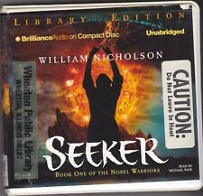Seeker by William Nicholson (2006, CD, Unabridged) Noble Warriors Series Book 1
